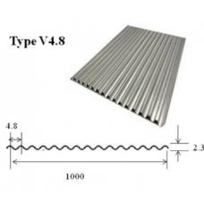 Huali CORRUGATED ALUMINUM JACKETING (CLADDING) 0.02INCH(0.5 mm) + Polysurlyn Polyfilm moisture barrier(PFMB) (76 μm)