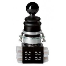 Schmersal Spring-return rotary selector switch with 1 touch position and automatic return to zero position EWT21