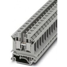Phoenix Contact Terminal Block Connector 2 Position Feed Through Gray 1/0-14 AWG