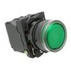 HANSHIN ELECTRIC CONTROL PANEL PUSH BUTTON SWITCH , GREEN A25PF10G