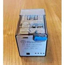 Releco C9 4PDT Non-Latching Relay Plug In, 230V ac Coil, 5A