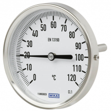ARM TEMPERATURE GAUGE 3 126,70 380,10 TYPE : TXBI 100 O 0/60°C B6*300 RTC F24*1.5 BH