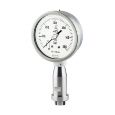 "NuovaFima ST. ST. CAPSULE PRESSURE GAUGE, MODEL MN9/18. 6"" (150 MM) CASE DIAMETER."