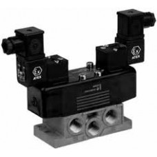 ASCO SPOOL VALVE WITH SPRING RETURN 54391023 WITH SINGLE SUBBASES WITH SIDE PORT 35500171