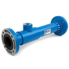 Static Mixer rods, machined from solid PTFE, DN50